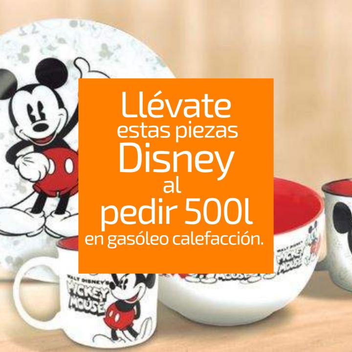 ¡Esta temporada, disfruta de la nueva colección de Disney y Energysalas al pedir tu gasoil calefacción!