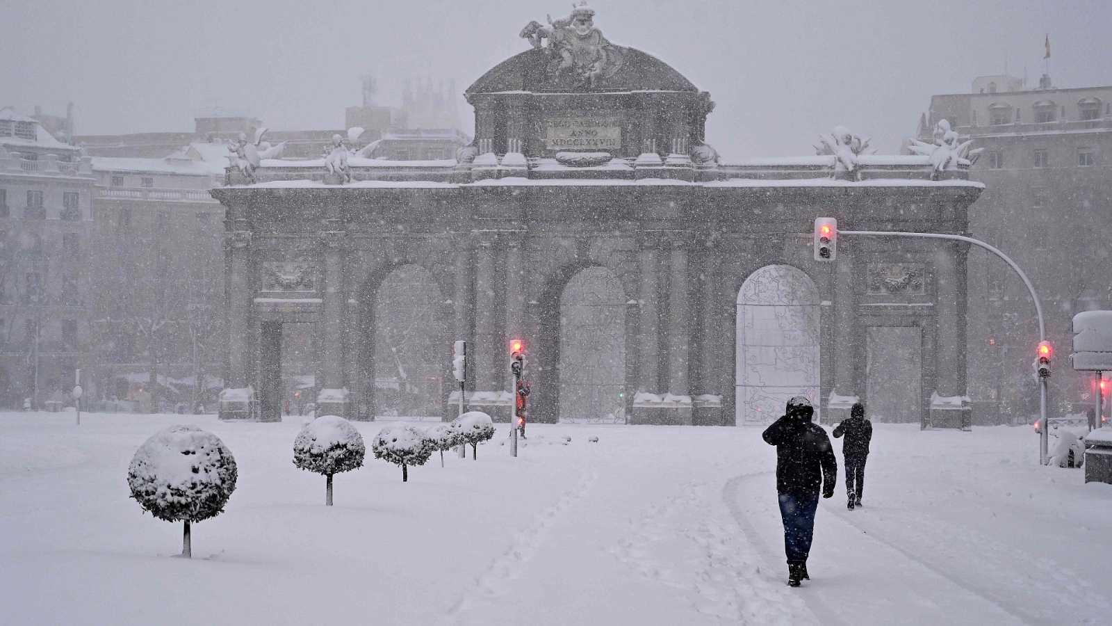 Últimas noticias.Alerta por ola de nieve Madrid.